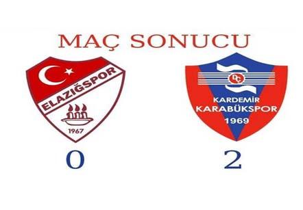 Elazığspor: 0 – Karabükspor: 2