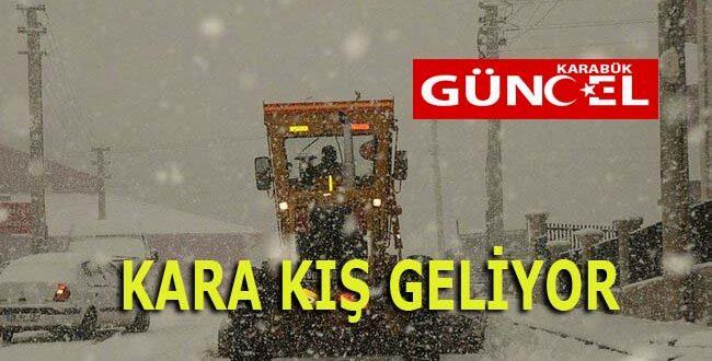 KARA KIŞ GELİYOR
