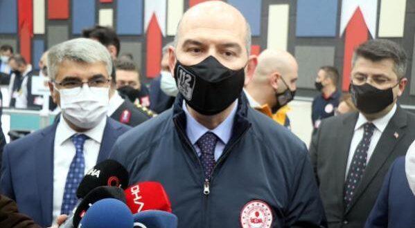 İçişleri Bakanı Süleyman Soylu Karabük'te