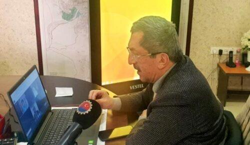Rafet Vergili, AB'nin Türkiye Aleyhtarı Raporuna Karşı Destek İstedi.