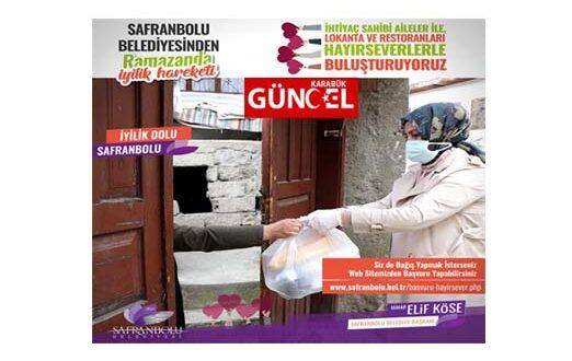 """Başkan Köse """" Safranbolu'da İyilik Kazanıyor """""""