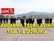JANDARMA TEŞKİLATININ 182. YIL DÖNÜMÜ