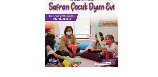 Çocuklar Oyun Evinde Emin Ellerde