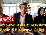 Safranbolu MHP Teşkilatı Basınla Bir Araya Geldi