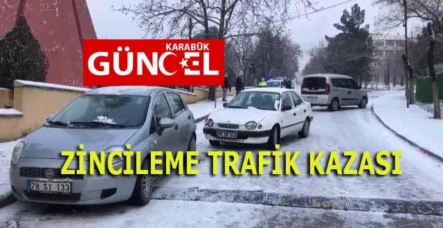 ZİNCİLEME TRAFİK KAZASI