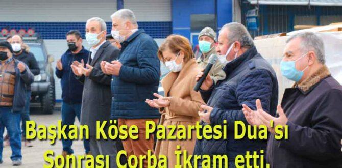 Başkan Köse Pazartesi Dua'sı Sonrası Çorba İkram etti.