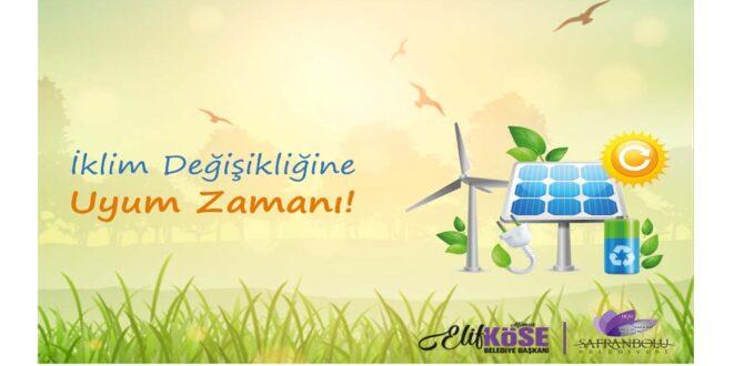 Safranbolu Belediyesinden İklim Değişikliğine Uyum Zamanı Projesi