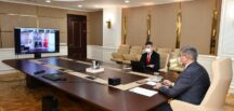 2021 yılı SOGEP Bilgilendirme ve Eğitim Toplantısı Vali Gürel Başkanlığında Çevrimiçi Olarak Yapıldı.