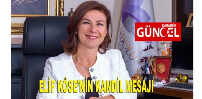 Başkan Köse'nin Miraç Kandili Mesajı