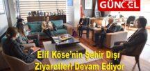 Safranbolu Belediye Başkanı Elif Köse'nin Şehir Dışı Ziyaretleri Devam Ediyor.