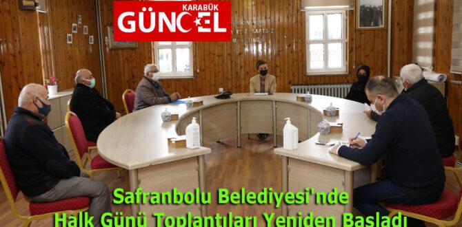 Safranbolu Belediyesi'nde Halk Günü Toplantıları Yeniden Başladı