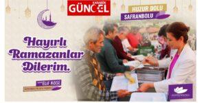 """Safranbolu Belediye Başkanı Elif Köse'nin """"Ramazan Ayı"""" Kutlama Mesajı"""