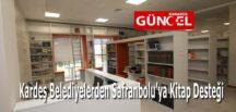 Kardeş Belediyelerden Safranbolu'ya Kitap Desteği