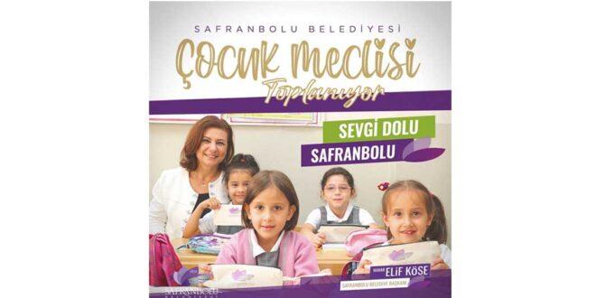 Safranbolu Çocuk Meclisinde İlk Toplantı Yarın