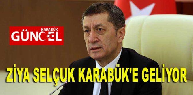 ZİYA SELÇUK KARABÜK'E GELİYOR
