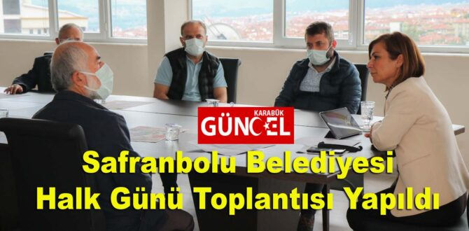 Safranbolu Belediyesi Halk Günü Toplantısı Yapıldı