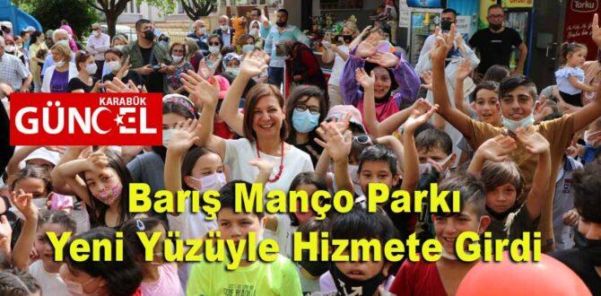 Barış Manço Parkı Yeni Yüzüyle Hizmete Girdi
