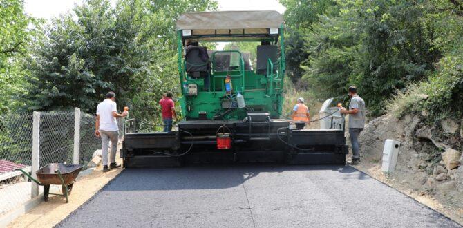Safranbolu Belediyesi Asfaltta Hız Kesmiyor