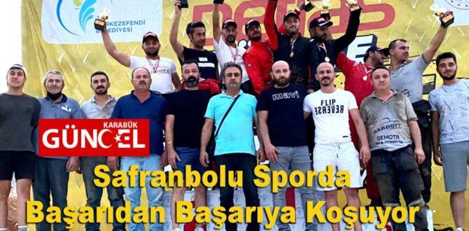 Safranbolu Sporda Başarıdan Başarıya Koşuyor