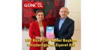 Elif Köse CHP Genel Başkanı Kılıçdaroğlu'nu Ziyaret Etti