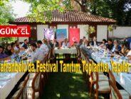 Safranbolu'da Festival Tanıtım Toplantısı Yapıldı