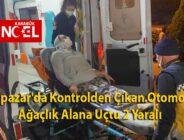 Eskipazar'da Kontrolden Çıkan Otomobil Ağaçlık Alana Uçtu 2 Yaralı