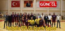 Yenişehir GSK Galibiyetle Başladı